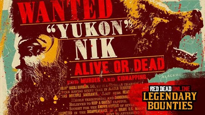Yukon Nikoli Borodin is the latest Red Dead Online Legendary Bounty
