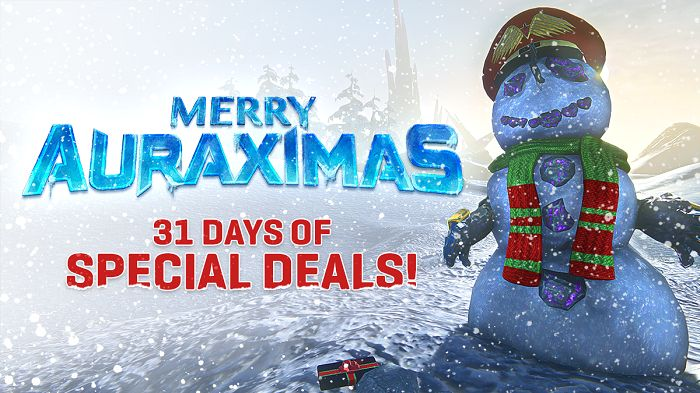 PlanetSide 2 Featuring 31 Days of Deals Throughout December