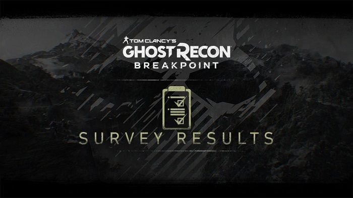 Ghost Recon Breakpoint Survey Most Request Feature is AI Teammates