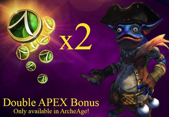 ArcheAge Double Apex Bonus Packs Now Available