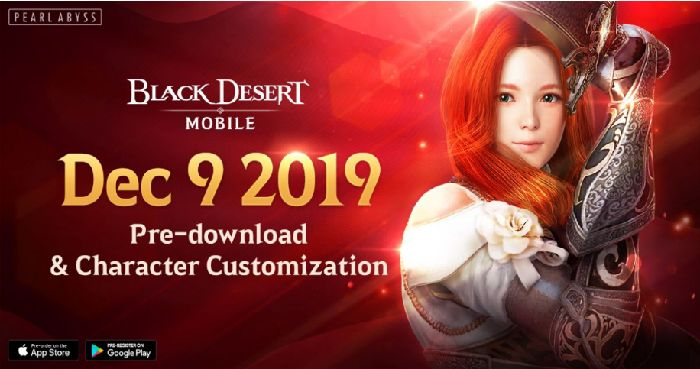 Black Desert Mobile Pre-Download Available December 9