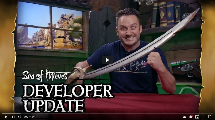 Sea of Thieves Developer Update Discussed Sword Combat and Black Market Archive, Meanwhile Festival of Giving Arrives December 11