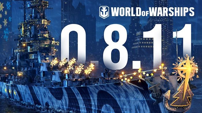 World of Warships Update 0.8.11 Brings Holiday Festivities