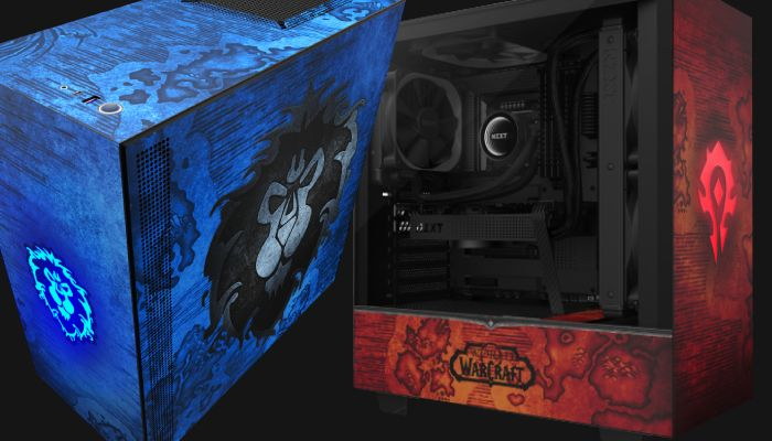 NZXT Reveals World of Warcraft Themed H510 PC Gaming Case
