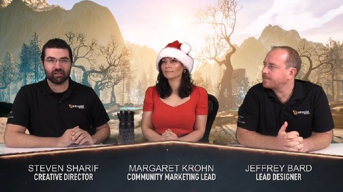 Ashes of Creation December 17 Live Stream Covered off Studio Update, Video on Christmas, Q1 Announcements