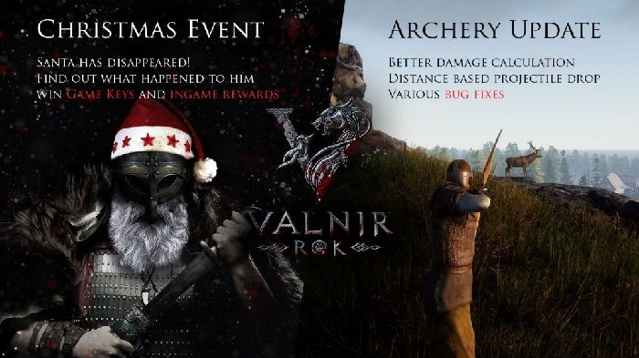 Viking RPG Valnir Rok Receives Christmas Event and Bug Fix Update