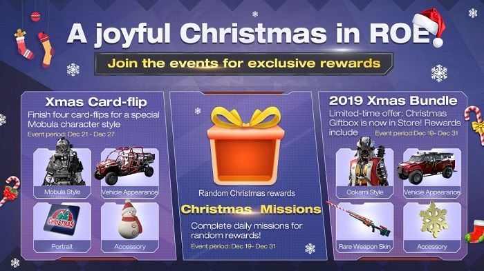 Ring of Elysium Spreads Holiday Cheer With Limited-Time Event