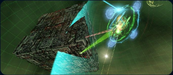 The Borg Have Returned to Star Trek Online in Remastered Task Force Operations