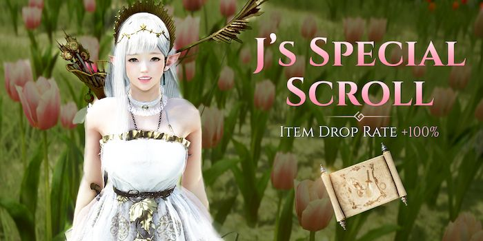 Claim J's Special Scroll in Black Desert Before January 4