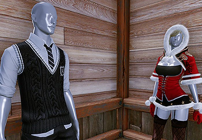 Male and Female Nuian Mannequins Available in ArchAge
