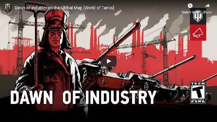 World of Tanks Dawn of Industry Event Arrives January 16