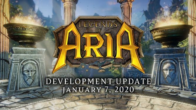 Legends of Aria Provides Development Update - Legends of Aria News