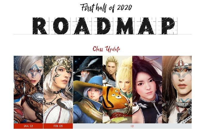 Black Desert Shares Roadmap for First Half of 2020