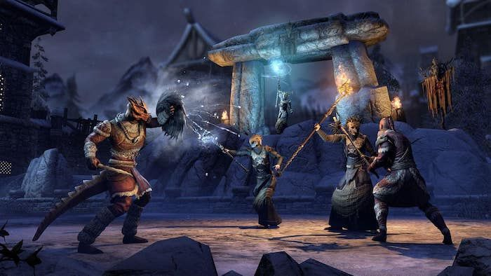 Elder Scrolls Online Harrowstorm and Update 25 Now On PTS