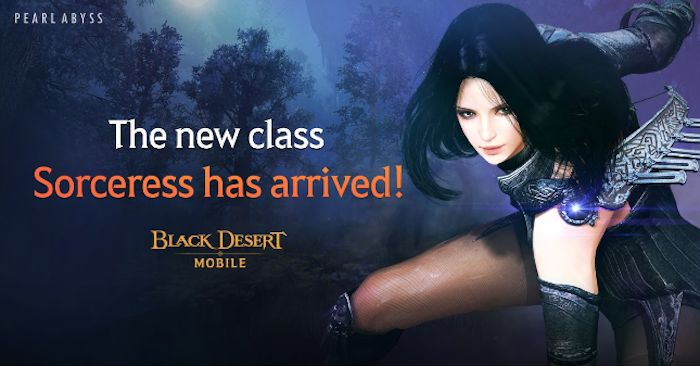 Black Desert Mobile Receives Sorceress