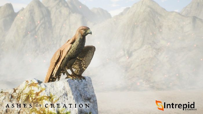 Ashes of Creation Shares Development of Dunewing
