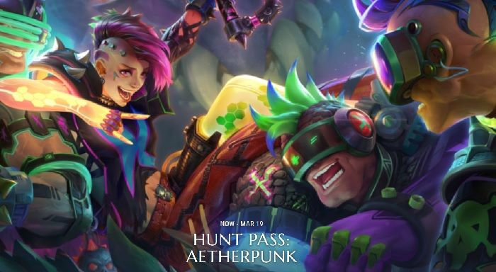 Hunt Pass: Aetherpunk Live Now in Dauntless