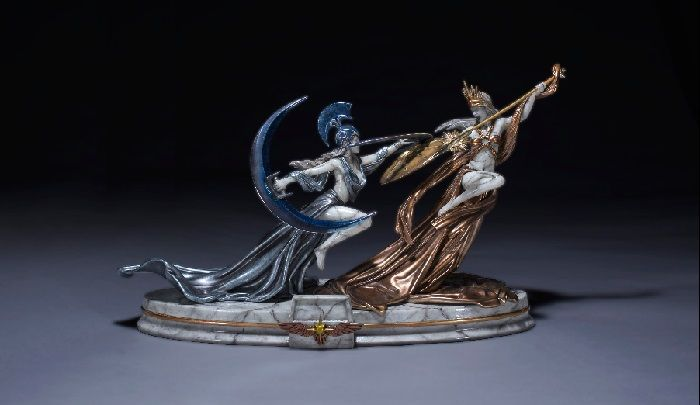 Path of Exile Solaris and Lunaris Statue Detailed
