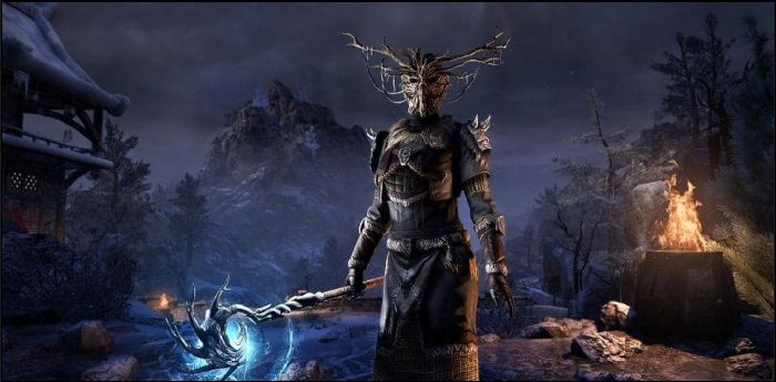 Elder Scrolls Online Previews Mother Ciannait, Master of Harrowstorm's Icereach Dungeon
