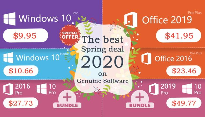 Keysworlds Thaws Winter Chill With Best Spring Sale On Genuine Windows Software - SPONSORED