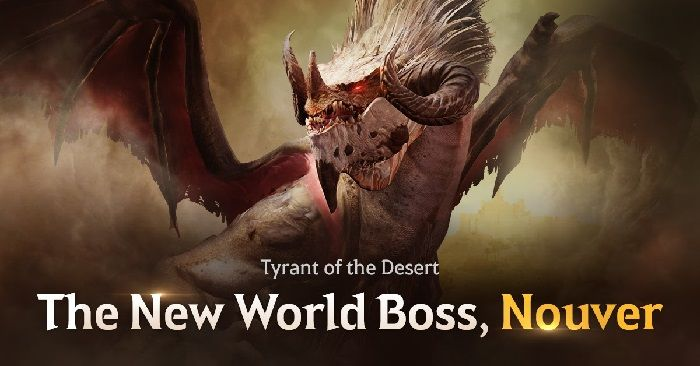 Nouver World Boss Out Now on Black Desert Mobile