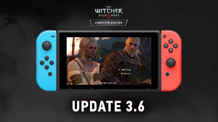 Witcher 3 Update for Switch Introduces Save File Integration and More