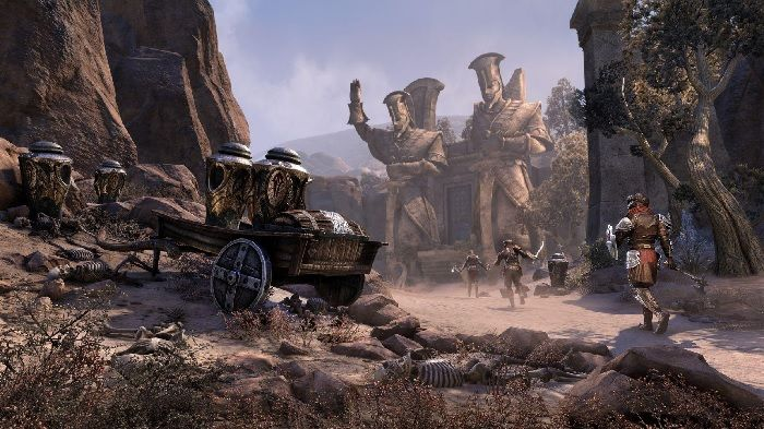 Elder Scrolls Online Previews Harrowstorm's Unhallowed Grave Dungeon
