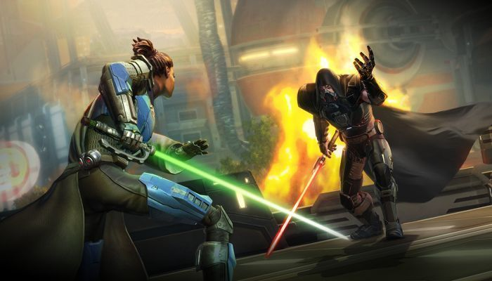 Swtor is an online MMORPG game