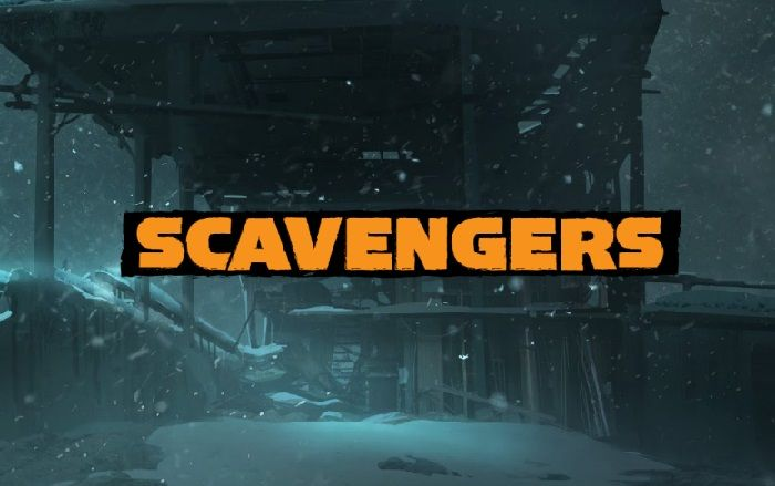 Scavengers Technical Playtest Hits Tomorrow