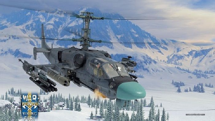 War Thunder Receives Apache Helicopters in Viking Fury Update