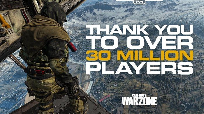 Call of Duty Warzone Boasts 30 Million Players