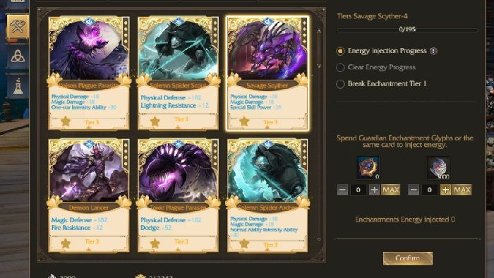 Revelation Online Share Book of Enchantments System