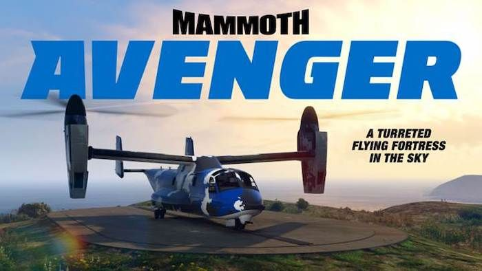 Grab a Mammoth Avenger in GTA Online This Week