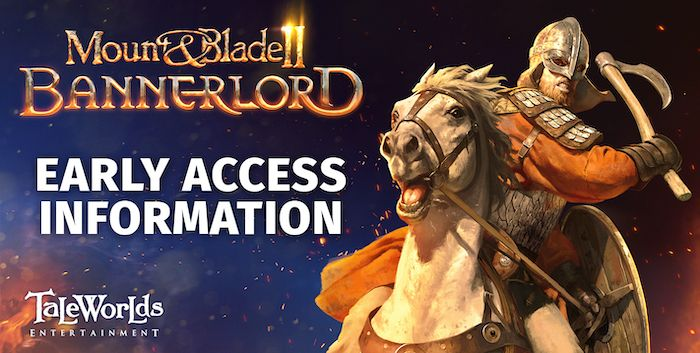 Mount & Blade II Bannerlord Now Available on Early Access