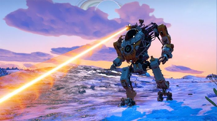No Man's Sky Update 2.4 Lets You Pilot a Mech