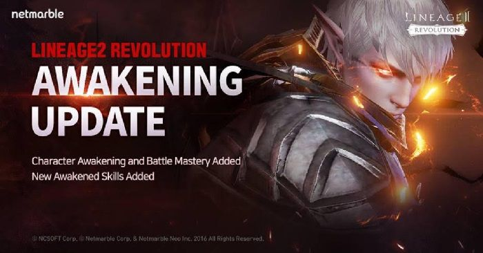 Lineage 2: Revolution Receives Battle Mastery Update