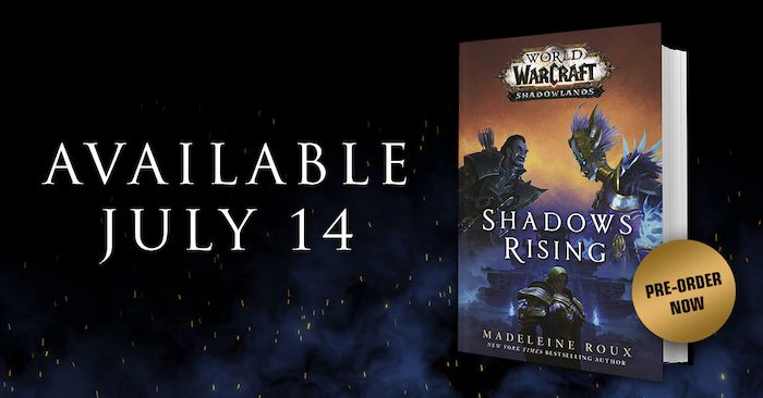 BlizzCon Not Cancelled (Yet), World of Warcraft Shadowlands Prequel Book Receives Cover