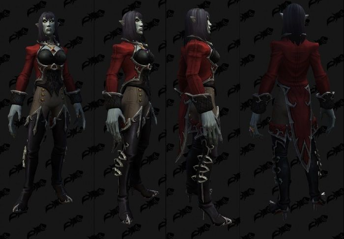 World of Warcraft Datamine Reveals New Vampire Models for Shadowlands