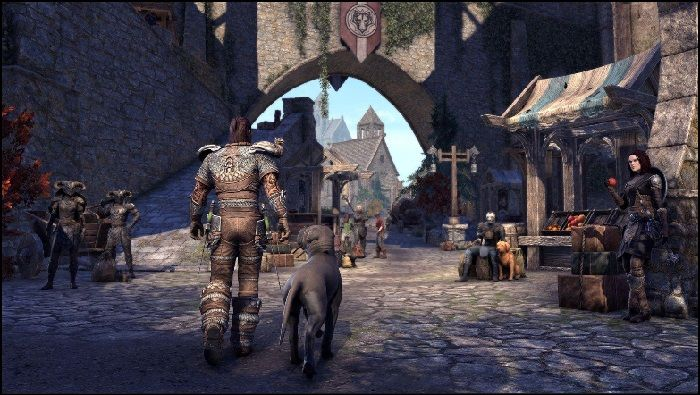 Elder Scrolls Online Explores Greymoor's Solitude and More