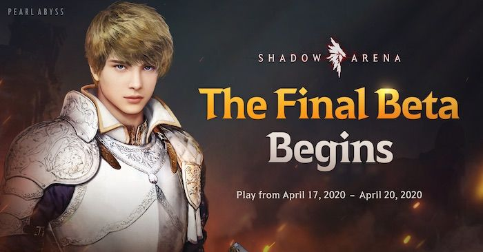 Final Shadow Arena Closed Beta Live Now Through April 20