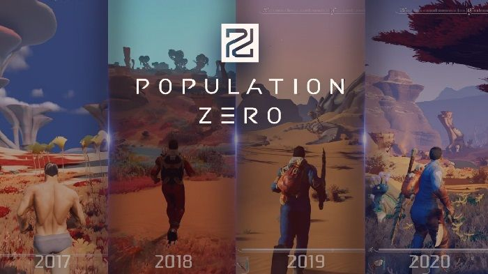 Population Zero Shares its Development Progress Throughout the Years