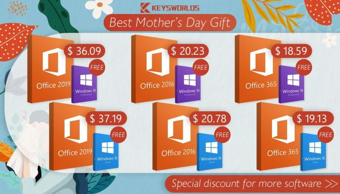 Mother's Day Promotion - Get Windows 10 Totally For Free! (SPONSORED)