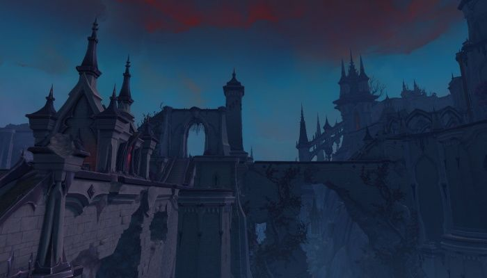 World of Warcraft's Shadowlands Alpha Gets a Little More Gothic