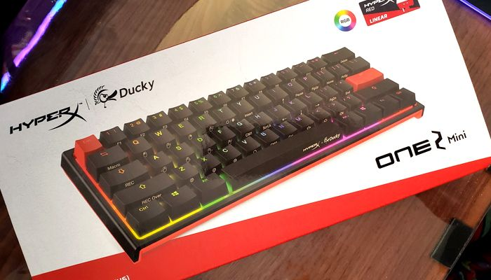 HyperX x Ducky One 2 Mini Limited Edition Review