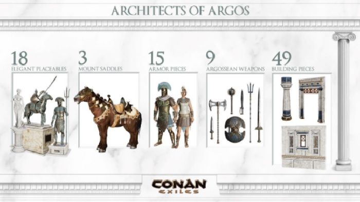 Conan Exiles DLC Architects of Argos Released Today