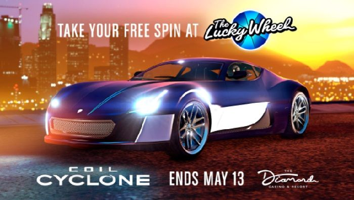 Coil Cyclone is This Week's Lucky Wheel Spin Prize in GTA Online