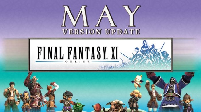 Final Fantasy XI Smaller May Version Update Out Now