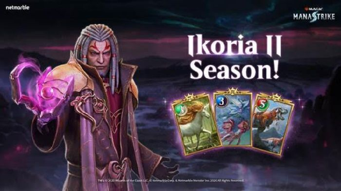 Magic: ManaStrike Receives New Ikoria II Season