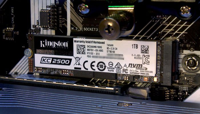 Kingston KC2500 1TB NVMe Review