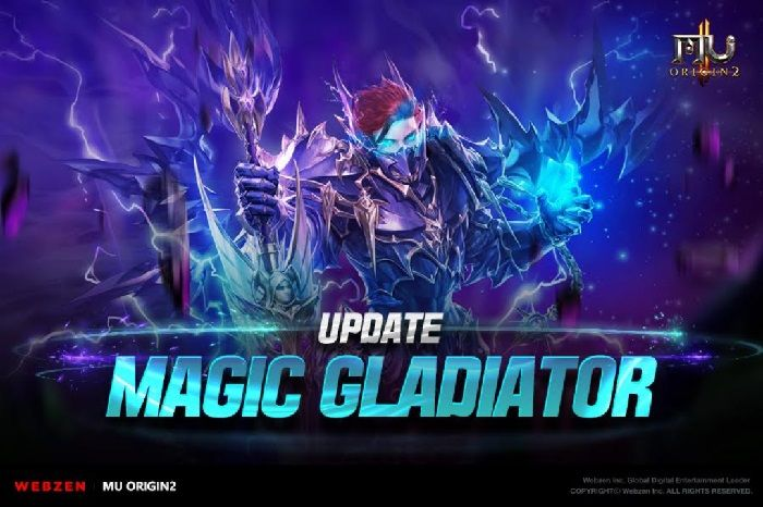 MU ORIGIN 2 Receives New Class 'Magic Gladiator'